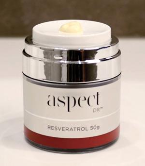 Aspect Dr Resveratrol Moisturiser 15g included in the starter kit
